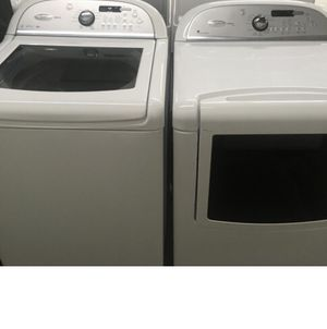 Nice whirlpool washer dryers electrical for Sale in Columbus, OH