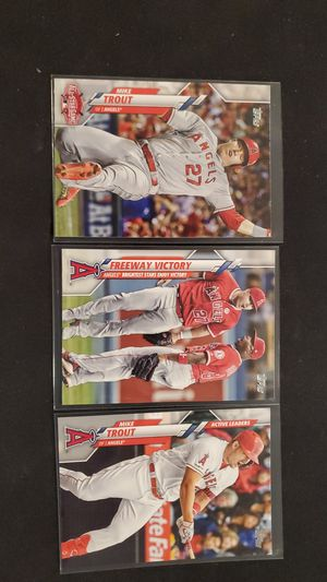 Mike Trout for Sale in Goodyear, AZ