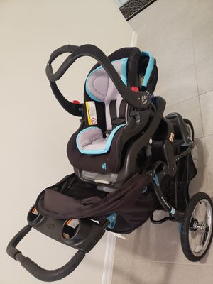 Baby car seat with stroller for Sale in Valrico, FL