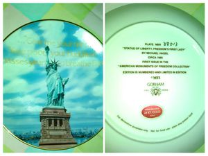 Statue of Liberty Collectible plate for Sale in Citrus Heights, CA