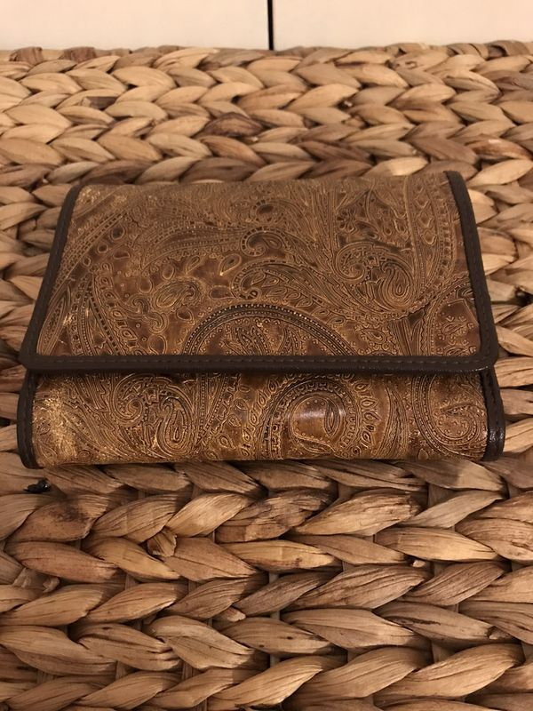 Brown Filigree Wallet