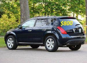 Perfectlyy2OO7 Nissan Murano AWDWheelsCleanTitle for Sale in Savannah, GA