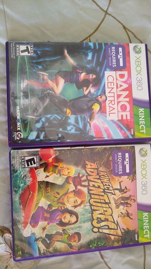 2 XBox 360 Kinect Games for Sale in Fort Lauderdale, FL
