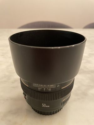 Canon EF 50mm f/1.4 USM lens for Sale in Queens, NY