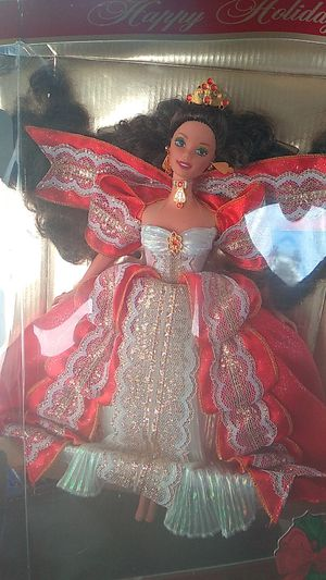 Happy holidays barbie 1990s mint for Sale in Denver, CO