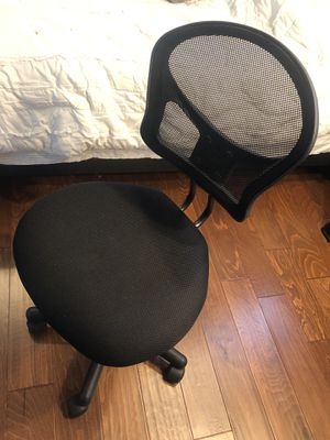 Black Desk Chair for Sale in Fresno, CA