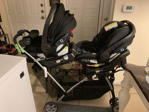 Complete Twins Travel System for Sale in Jacksonville, FL