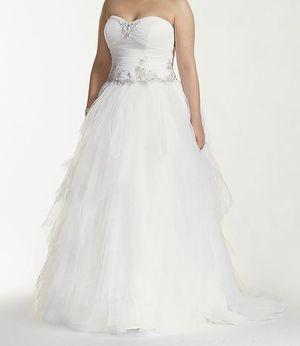 Plus size wedding dress for Sale in Skokie, IL