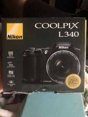 Nikon Camera Coolpix L340 for Sale in Riverside, CA
