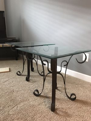 2 Glass Tables for Sale in Ashburn, VA