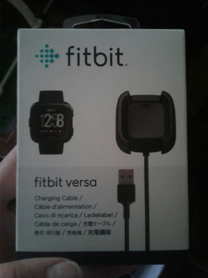 Fitbit versa charger for Sale in Ruskin, FL