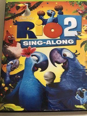 RIO 2 MOVIE+ SING-ALONG DVD for Sale in New Castle, DE