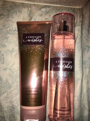 Brand New A Thousand Wished Body Cream & Fine Fragrance Mist Set! for Sale in Longmont, CO