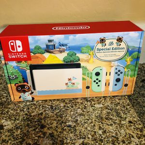 Nintendo Switch Console Animal Crossing Special Edition BRAND NEW SEALED! $410 CASH ONLY! for Sale in Phoenix, AZ
