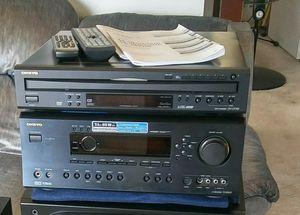Onkyo 7.1 Receiver w/Remote & Manual for Sale in Lincoln Park, MI