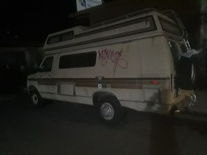 88 ford e250 fiesta camper van for Sale in Albany, CA