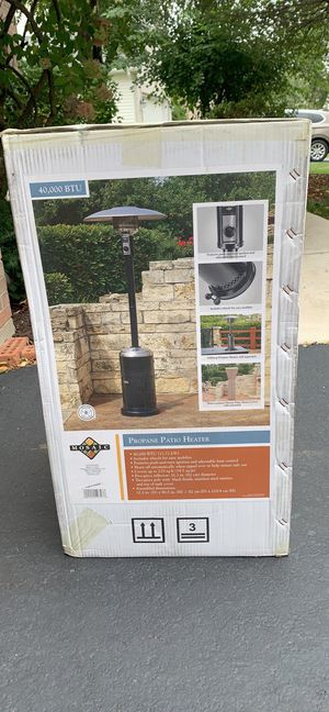 Mosaic Propane Patio Heater for Sale in Naperville, IL