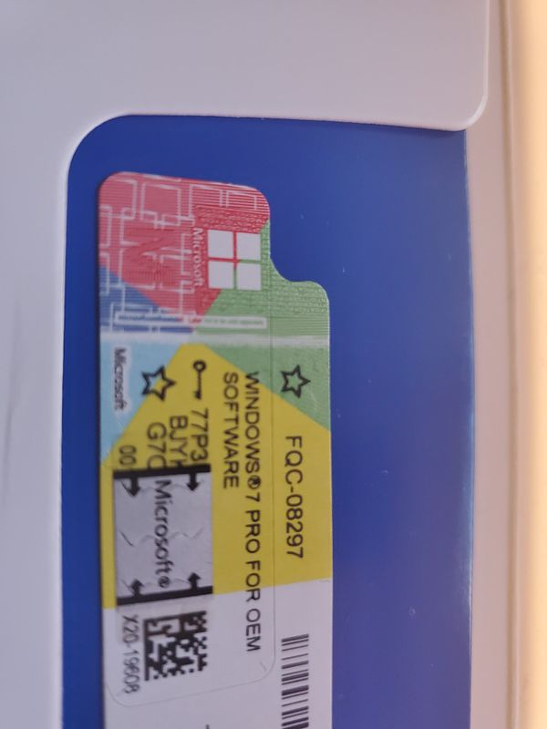 Windows 7 OEM 64bit Professional Sealed