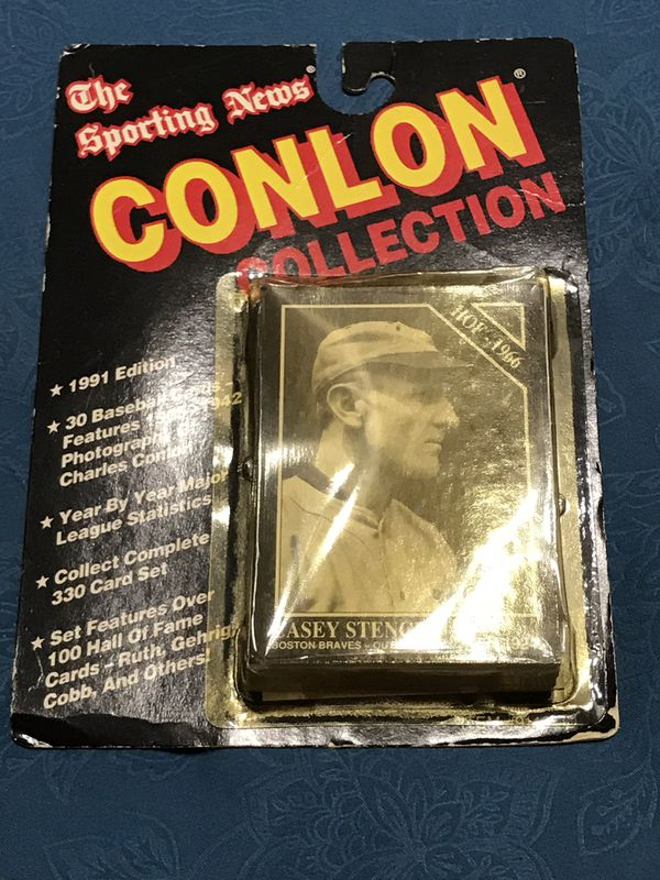 New - The Sporting News Conlon Collection 1991 Edition 30 Card Count