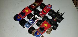 Monster Jam Superhero Truck Trucks Collection for Sale in Largo, FL