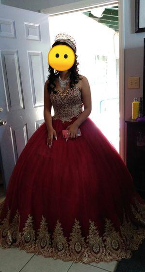 Dress elegant Quinceañera vestido de 15 años for Sale in Pittsburg, CA