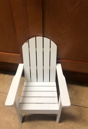 American Girl Doll Outdoor Chair for Sale in Miami, FL