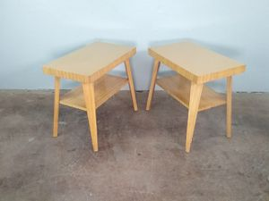 Vintage Atomic Side Tables or Night Stands for Sale in Phoenix, AZ