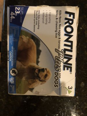 Frontline plus for dogs for Sale in Southington, CT