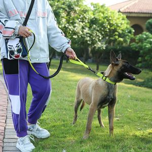 NEW!! Dog Yellow Bungee Leash and Collar Set for Sale in Norwalk, CA