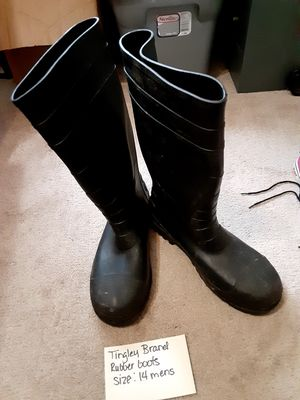 Tingley rubber boots for Sale in Wichita, KS