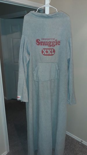 Grey Snuggie Varsity Limited Edition with pockets for Sale in Watauga, TX