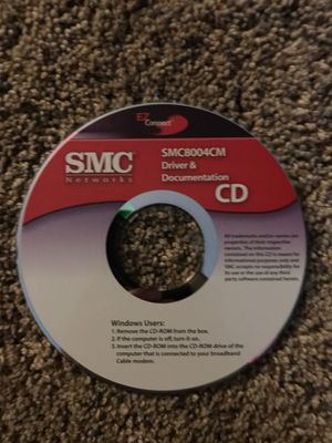 SMC8004CM driver & documentation cd for Sale in New London, MO