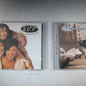 Lot of 2 R & B CD's (Monica: Miss Thang) (Sisters With Voices: New Beginning) for Sale in Layton, UT