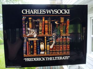 Acetate, Cats, books, Charles Wysocki for Sale in Fort Defiance, VA