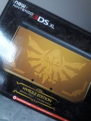 Sealed limited edition Hyrule Nintendo 3ds for Sale in Seattle, WA