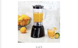 Mainstays 6-Speed Black Blender with Pulse Function & Cord Storage for Sale in Lancaster, PA