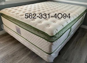 🍀 Elite Queen Organic Superior Plush Hybrid Gel Pillowtop. 🍀 for Sale in San Jose, CA