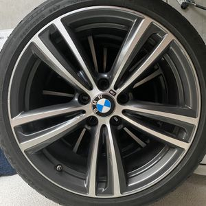 "Bmw Wheels OEM 19"" W/ Tires for Sale in Corona, CA"