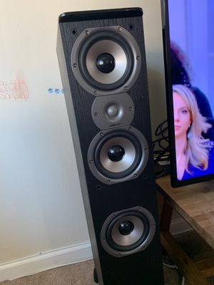 Polk audio floor standing speakers for Sale in Hillsborough, CA