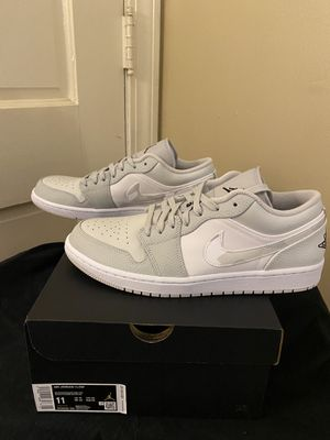 Jordan 1 low white gray camo size 11 and 12 for Sale in High Point, NC