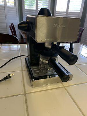 Me Coffee Steam espresso and cappuccino maker for Sale in Fresno, CA