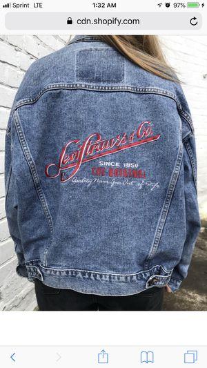 Vtg Levi Jean jacket for Sale in Columbus, OH