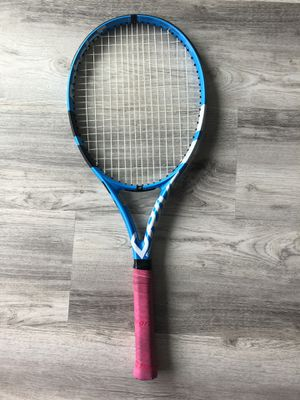 Babolat Pure Drive Like New Tennis Racket 4 1/8 New Gut Strings for Sale in Newport Beach, CA