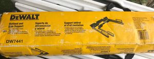 New dewalt outfeeed and side support (model dw7441) for table saw for Sale in Dallas, TX