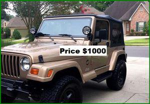ֆ1OOO Jeep Wrangler for Sale in Santa Clara, CA