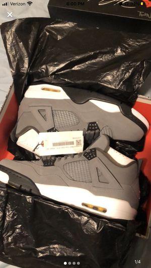 Jordan retro 4 cool grey for Sale in Brighton, CO