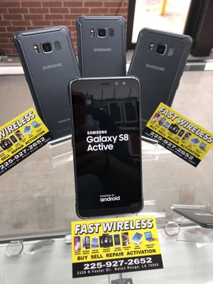 Samsung s8 active for Sale in Baton Rouge, LA