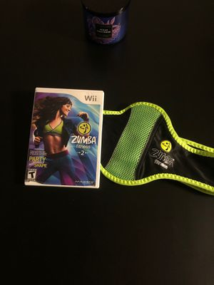 Zumba fitness 2 Wii game for Sale in Modesto, CA