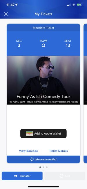 2 tickets valued at 300$ for Sale in Washington, DC