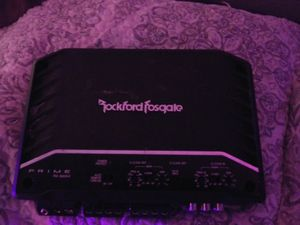 RockfordFosgate amplifier for Sale in Waco, TX